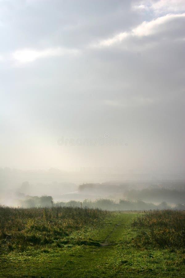 Download Misty morning stock photo. Image of fields, field, misty - 399450