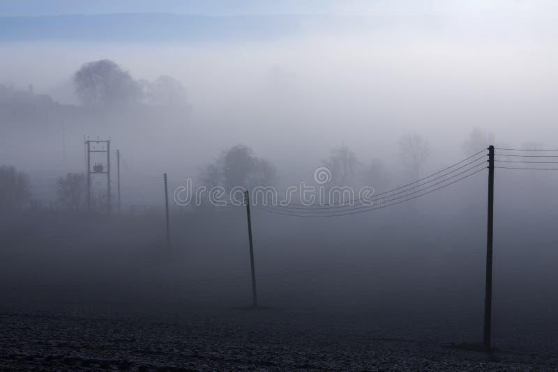 Misty Morning - North Yorkshire - England royalty free stock photo