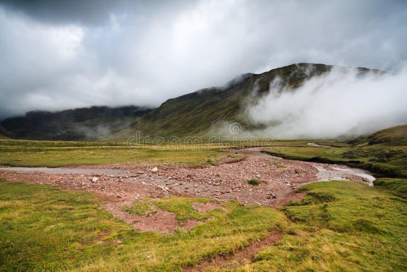 Misty morning in the Pirineos