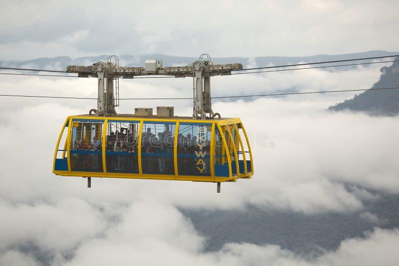 Misty Mountains Scenic stockfotografie