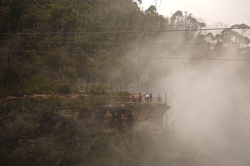 Misty Mountains Scenic lizenzfreies stockfoto
