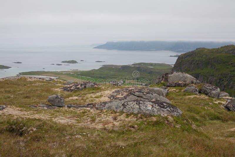 Misty Norway foto de stock