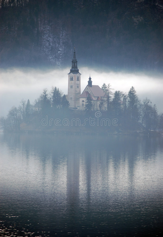 misty odbicia obraz royalty free