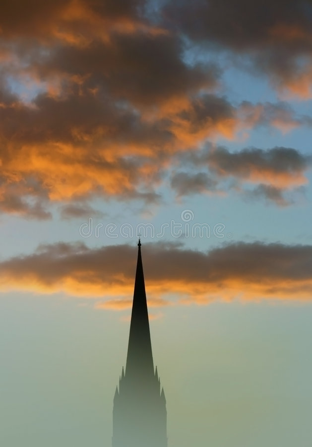 Free Misty Spire Stock Images - 7672324