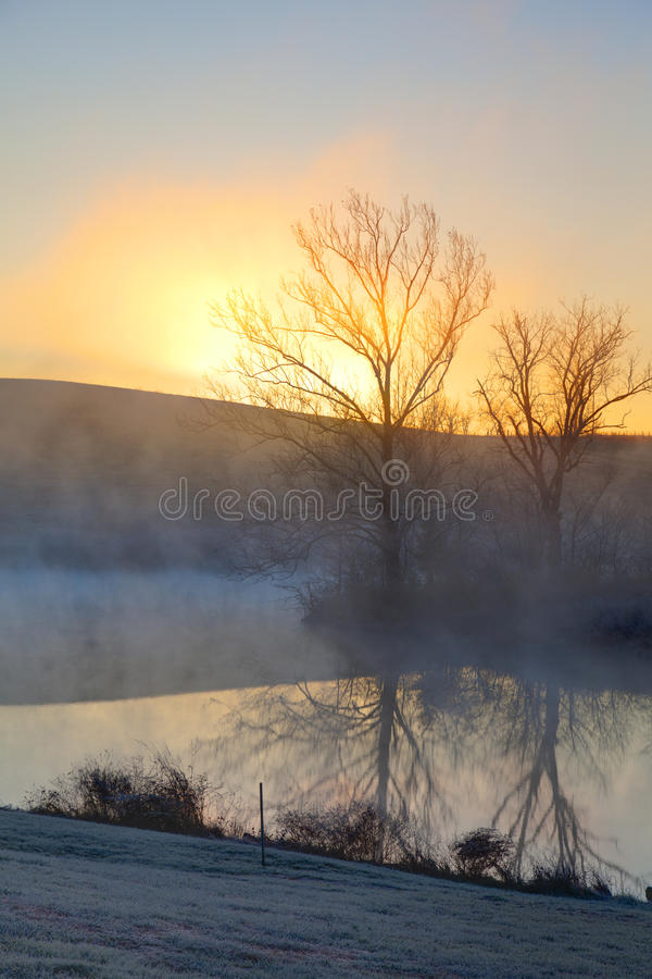 Download Misty sunrise stock photo. Image of hills, kentucky, morning - 28724774