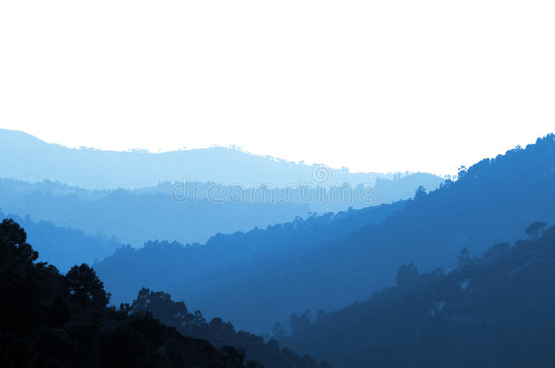 Download Misty Valley stock image. Image of blue, light, layer - 20657077