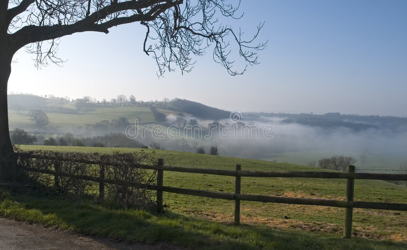 Download Misty View stock photo. Image of morning, hillside, country - 236992