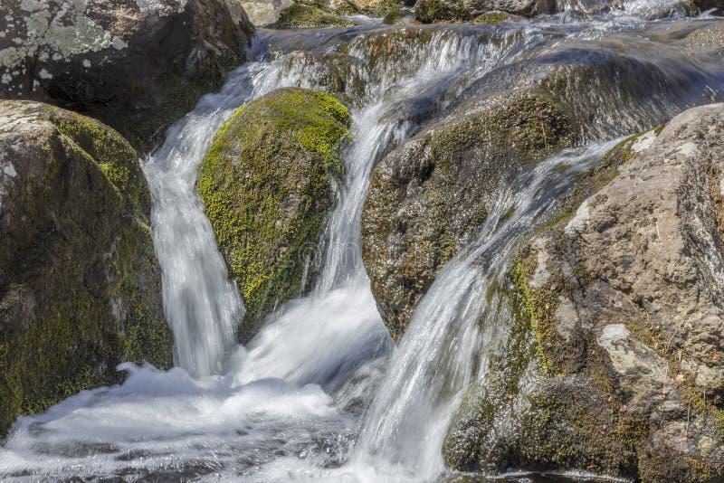 Download Misty Woodland Waterfall stock afbeelding. Afbeelding bestaande uit reis - 54092223