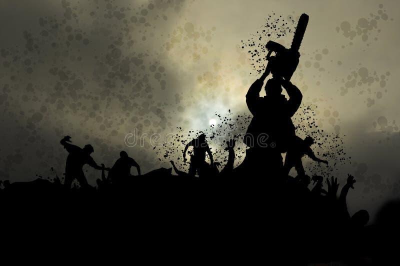 Misty zombies 5 vector illustration
