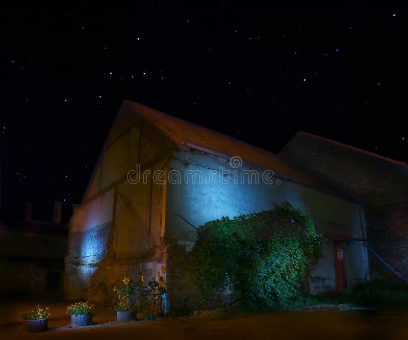mistyczna barn fotografia stock