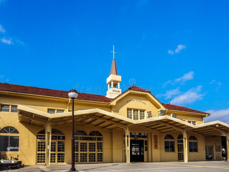 Misumi station royaltyfri bild