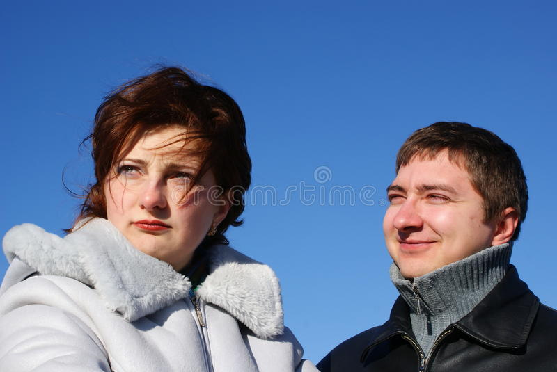 Download Misunderstand stock photo. Image of cold, younger, winter - 12229538