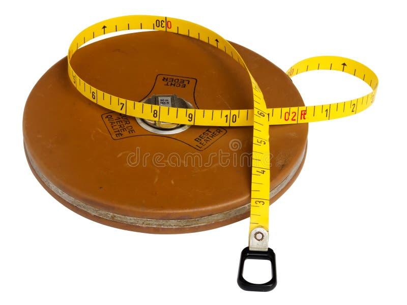 misura di nastro di lunghezza dei 50 tester fotografia stock libera da diritti