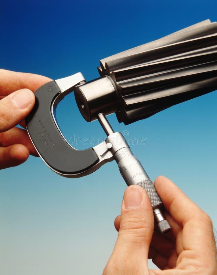 Misura di precisione immagine stock libera da diritti