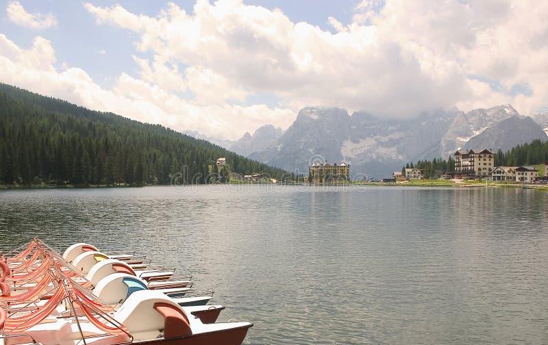 Misurina озера Италии доломитов