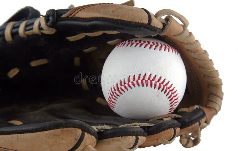 Mitón de béisbol imagen de archivo
