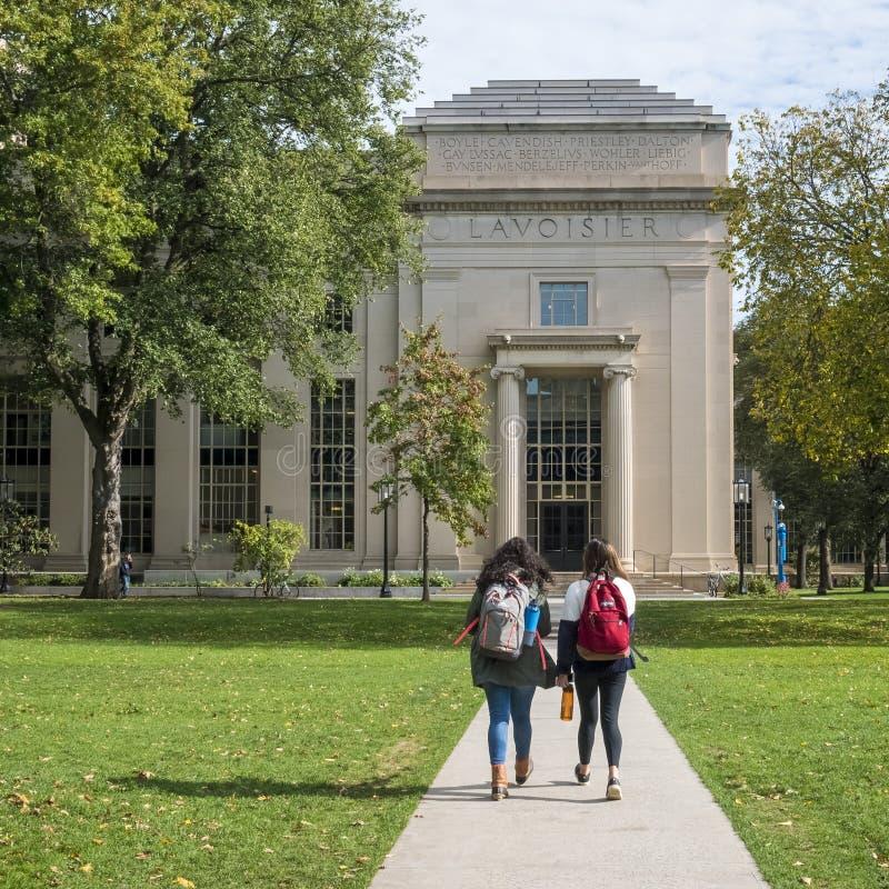 MIT in Cambridge stockbild