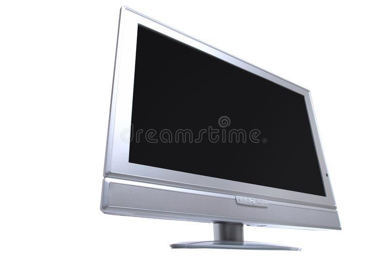 Mit großem Bildschirm lizenzfreies stockbild