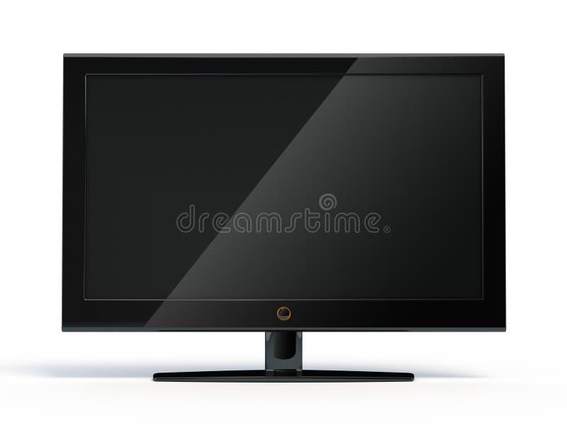 Mit großem Bildschirm lcd-Bildschirmanzeige vektor abbildung