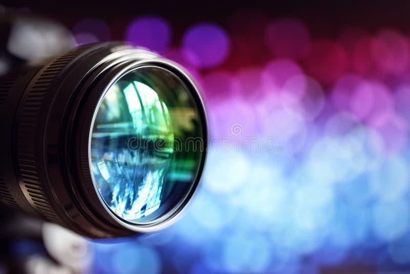 Mit Regenbogeneffekt stockfoto