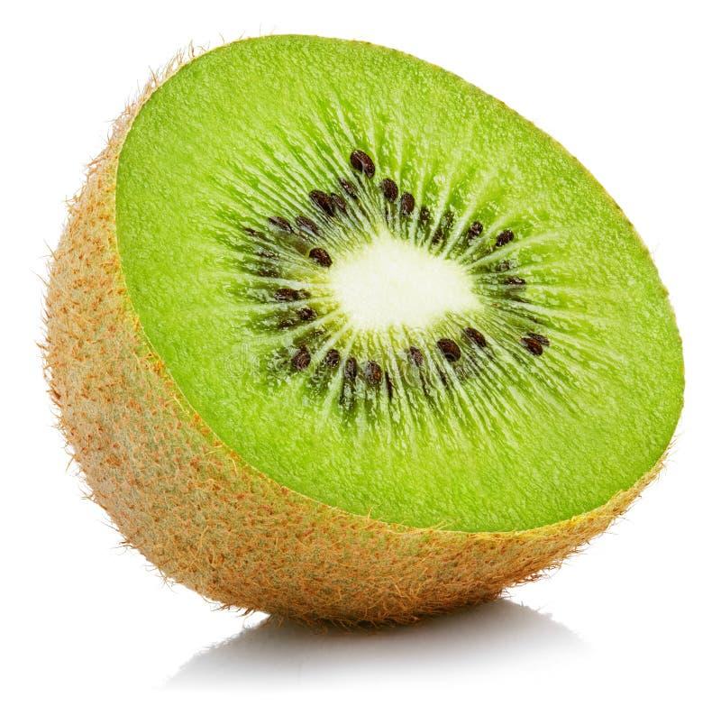 Download Mitad De La Fruta De Kiwi En Blanco Foto de archivo - Imagen de tajado, kiwi: 100534538