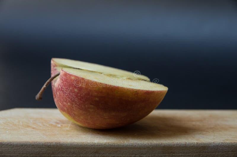 Mitad de una manzana II imagen de archivo libre de regalías