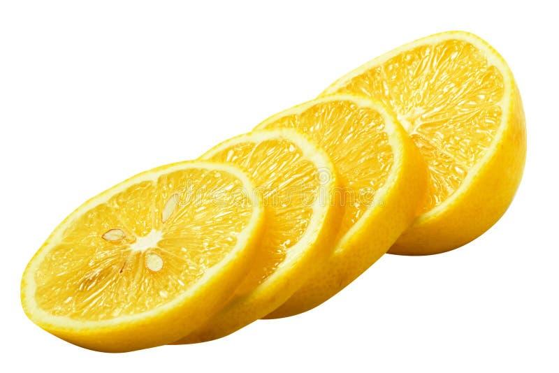 Mitad del limón foto de archivo
