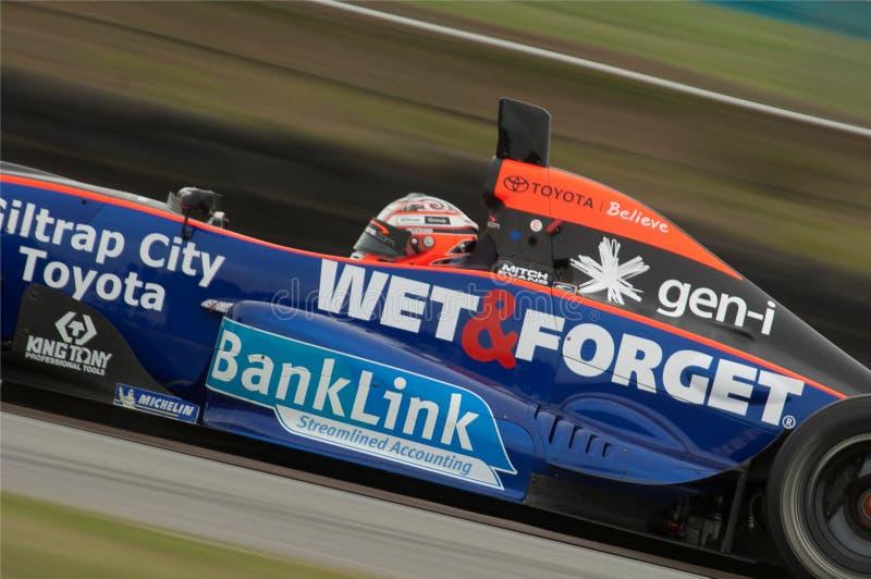 Mitch Evans, Sieger Toyotas, das Serie läuft stockbilder