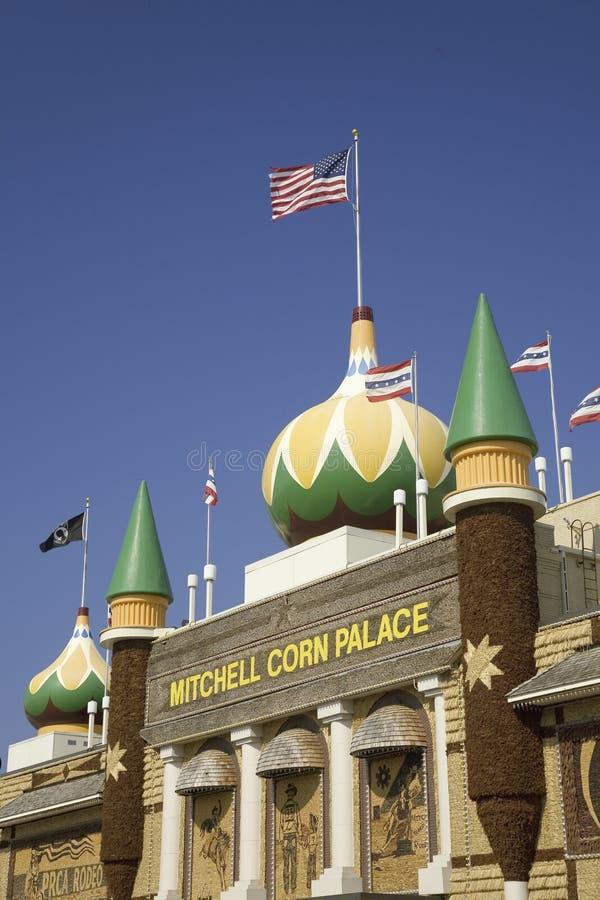 Mitchell kukurudzy pałac obrazy stock