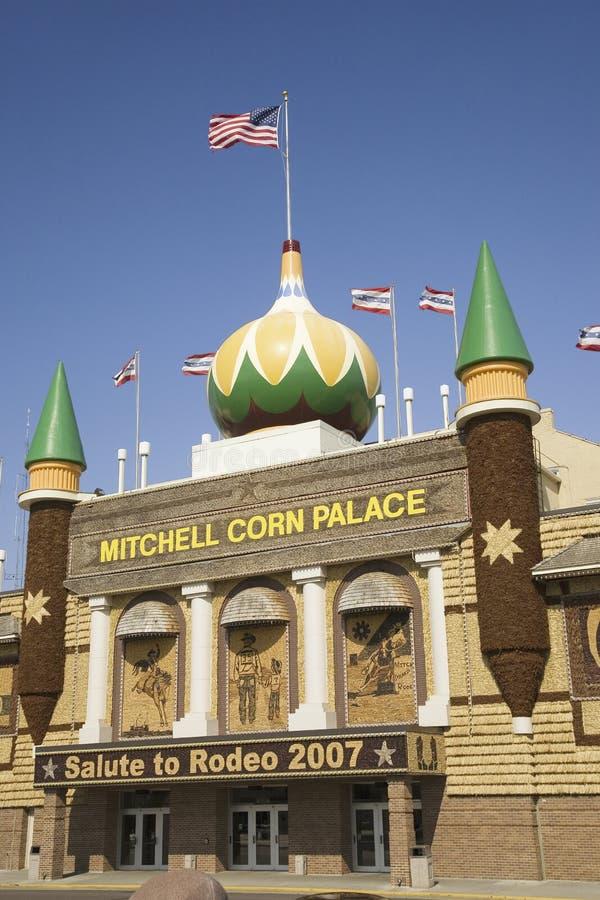 Mitchell kukurudzy pałac fotografia stock