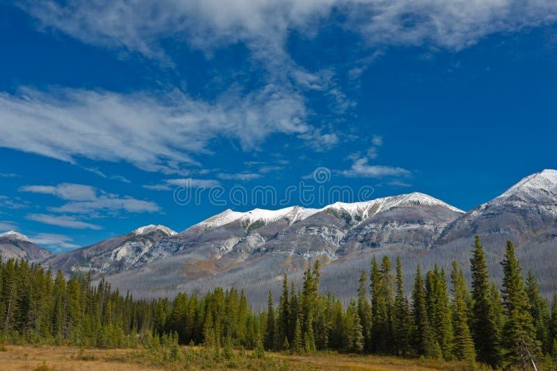 Mitchell Range, Kanada lizenzfreie stockfotos