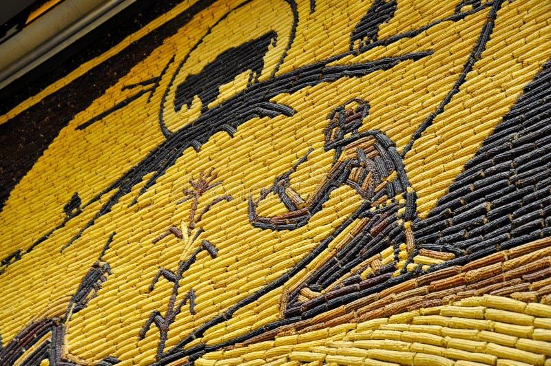 Mitchell sławny kukurydzany pałac, Południowy Dakota, usa zdjęcie stock