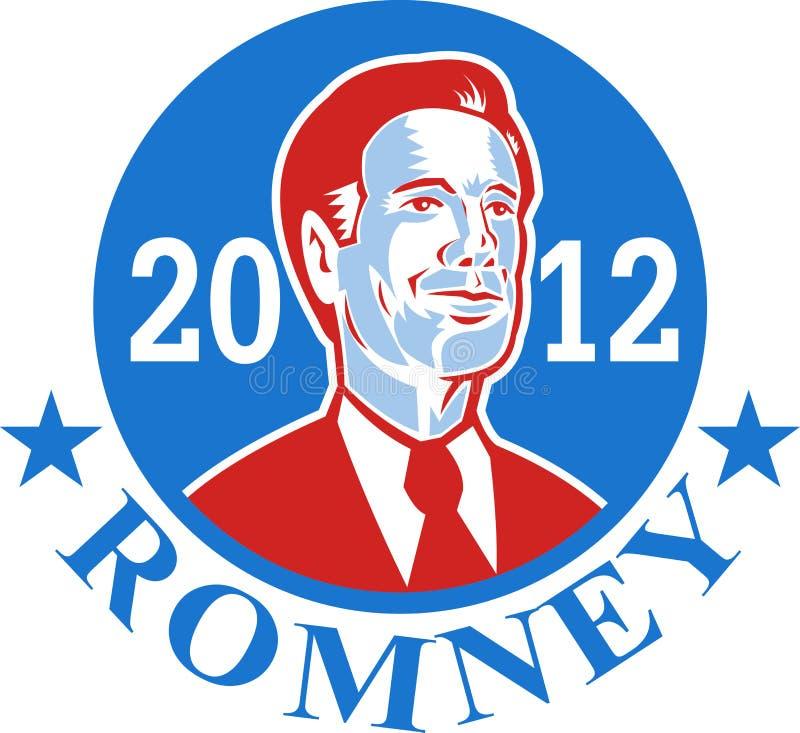 Mitenka Dla Amerykańskiego Prezydent Romney 2012 ilustracji