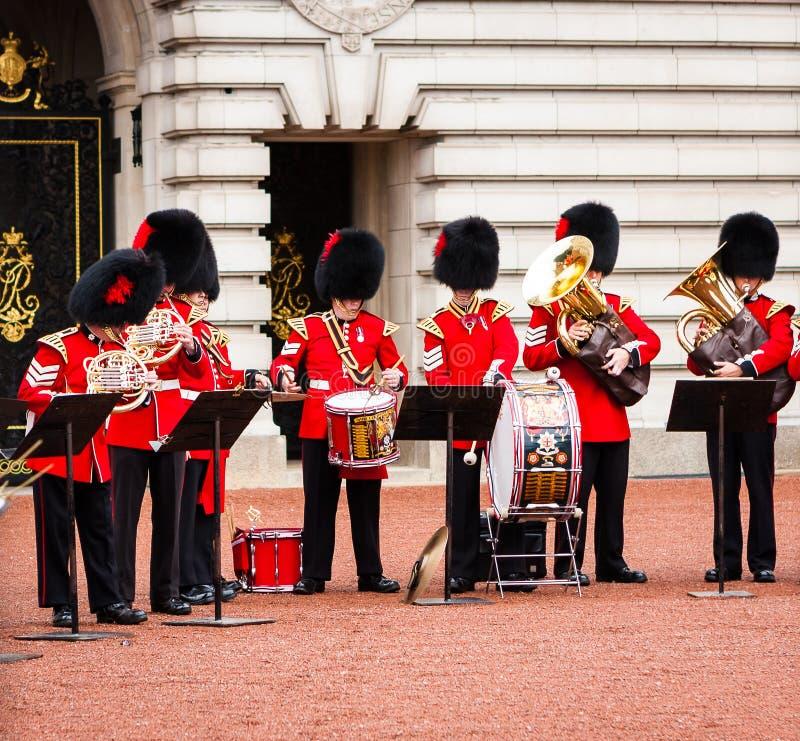 Mitglieder des königlichen Bandzahlens lizenzfreie stockbilder