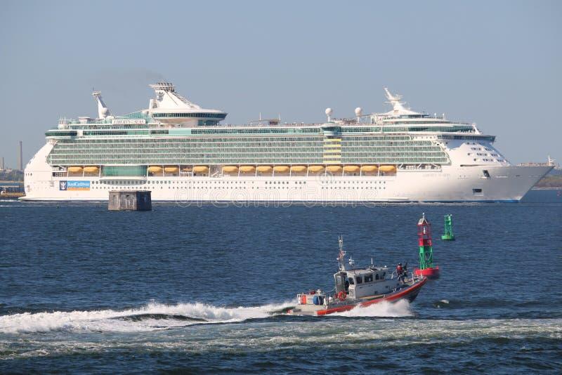Mitgliedstaat Liberty der Meere stockbilder
