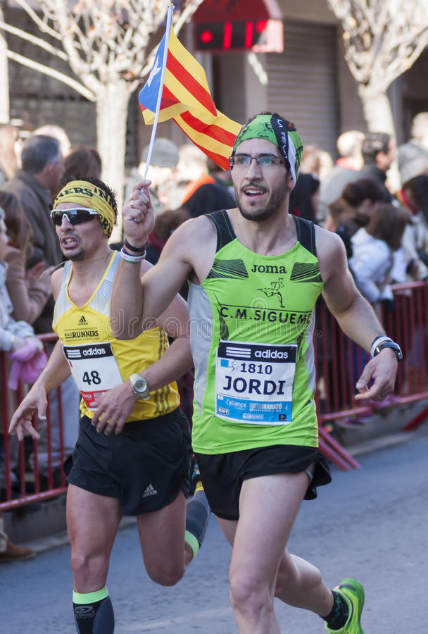 Download Mitja Marato Granollers editorial photo. Image of running - 37467511