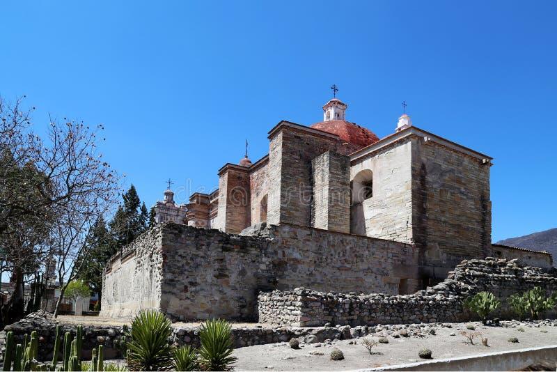 Mitla, Oaxaca, México imagens de stock
