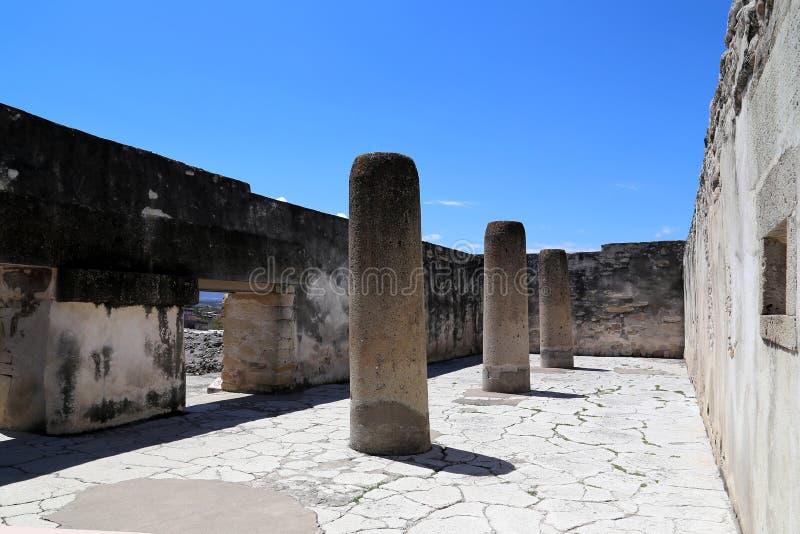 Mitla, Oaxaca, México fotografia de stock royalty free