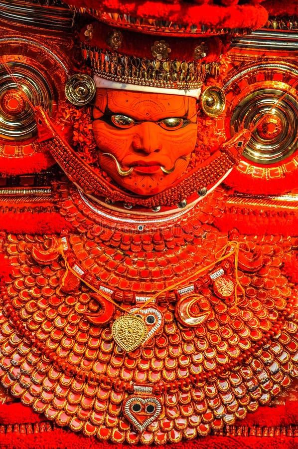 Mitología india en Kerala fotografía de archivo libre de regalías