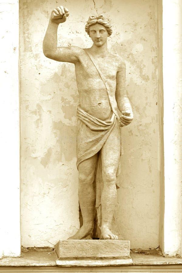 Mitologia del greco antico della scultura. In 75 anni fotografia stock libera da diritti