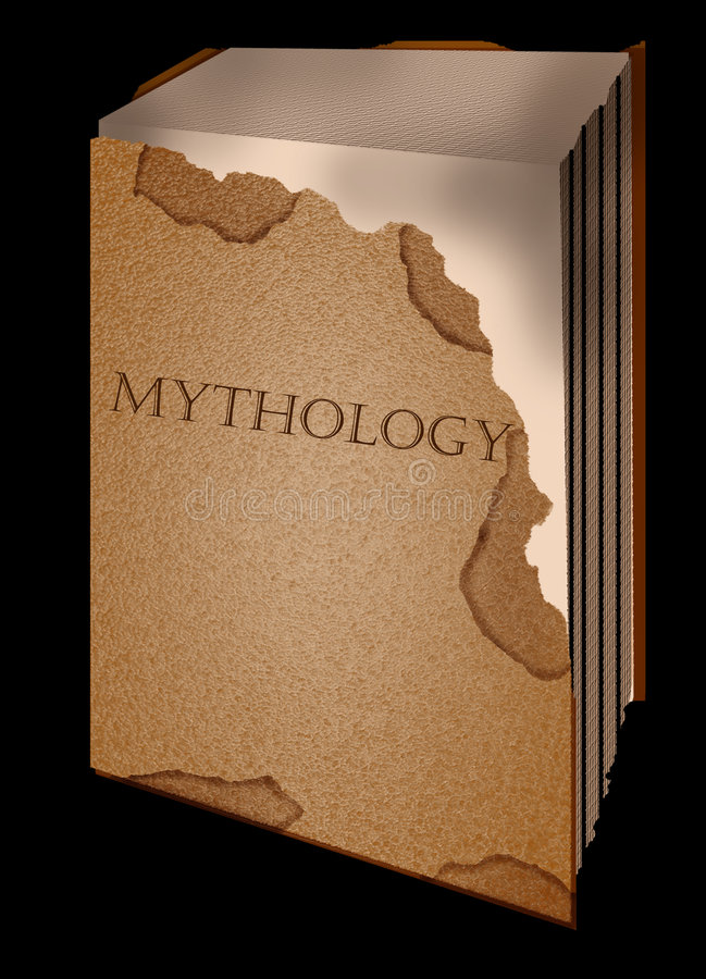 Mitologia del vecchio libro royalty illustrazione gratis