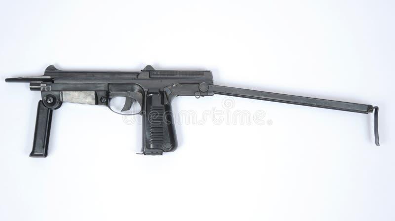 Mitragliatrice polacca dello SMG PM63 immagine stock