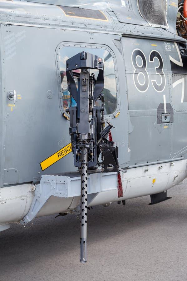 Elicottero In Tedesco : Mitragliatrice sull elicottero tedesco del lince di mare