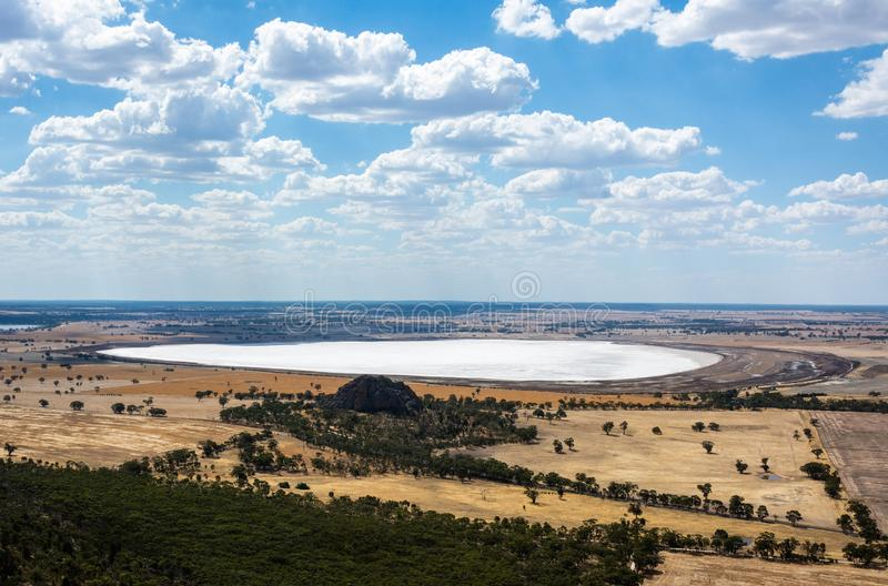 Mitre Lake Nature Conservation Reserve in Victoria, Australia stock photography