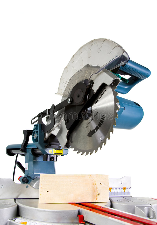 Download Mitre Saw stock image. Image of sharp, carpentry, mitre - 3999419