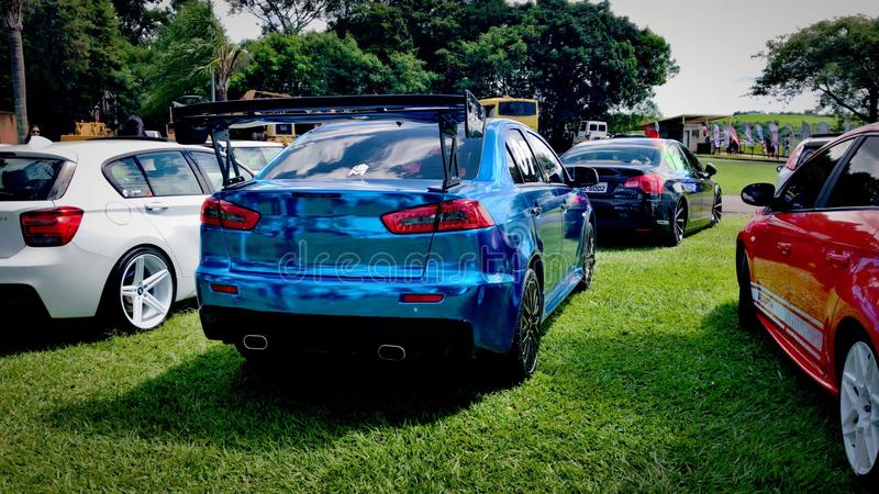 Mitsubishi Lancer GT royalty-vrije stock afbeelding