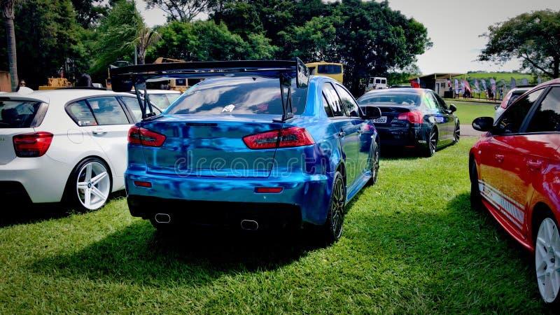 Mitsubishi Lancer GT royalty free stock image