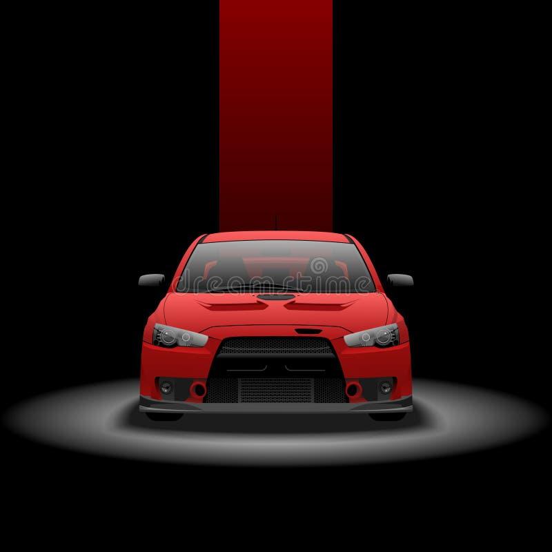 Mitsubishi Lancer zdjęcia royalty free