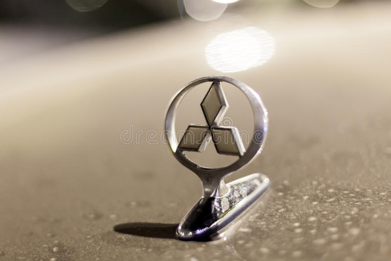 Mitsubishi Motors Logo On A Car Editorial Photography Image Of