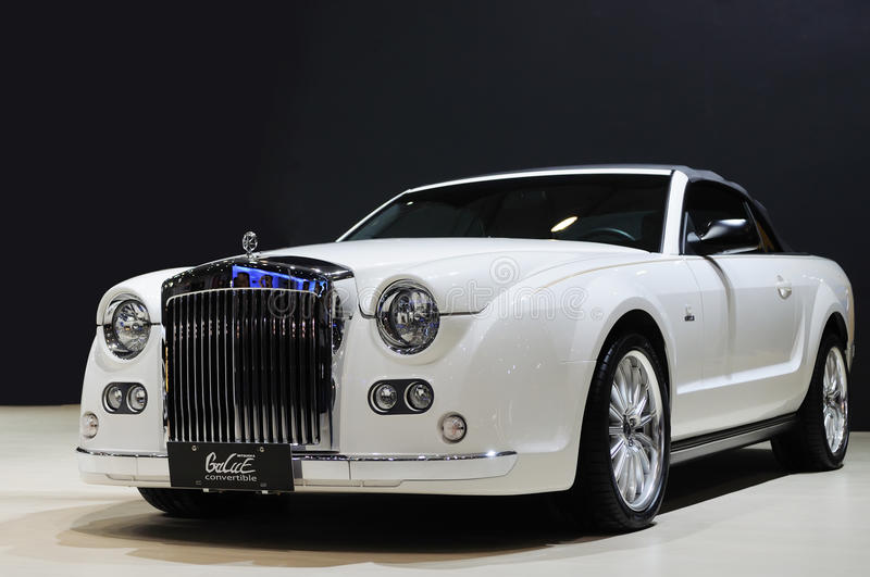 Download Mitsuoka galue convertible editorial photo. Image of international - 16852496